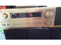 Denon AVR 3802 A/V in Gold