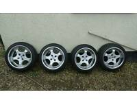 Brock B2 Alloy wheels 4x100 16x9