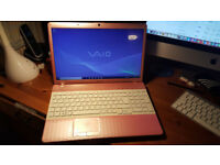 Sony Vaio Laptop Pink i3 2.20GHz - 4GB DDR3 - 500GB HDD, WIND 7 Pro