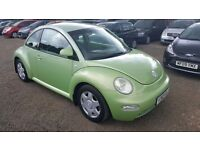 Volkswagen Beetle 2.0 3dr,FULL LEATHER INTERIOR, GENUINE LOW MILEAGE, HPI CLEAR, LONG MOT