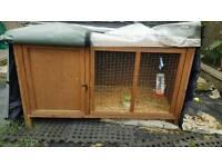 Rabbit hutch and accessories