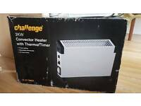 Convector heater with thermo/timer and glen series A MODEL GF20TSN