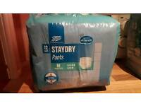 Staydry pull up pads
