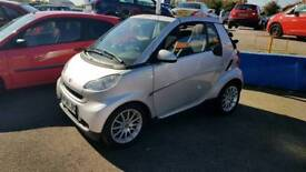 2008 mercedes smart car convertible 999cc semi-auto only 25.000 miles