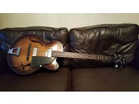 Ibanez AFBV200A Artcore 4-String Bass Guitar. 'Reliced' finish. Padded Gig Bag Included.