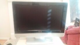 Phillips Flat Screen TV, 23 Inch, Dolby Surround Sound