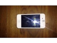 White iPhone 4 16g Vodafone.