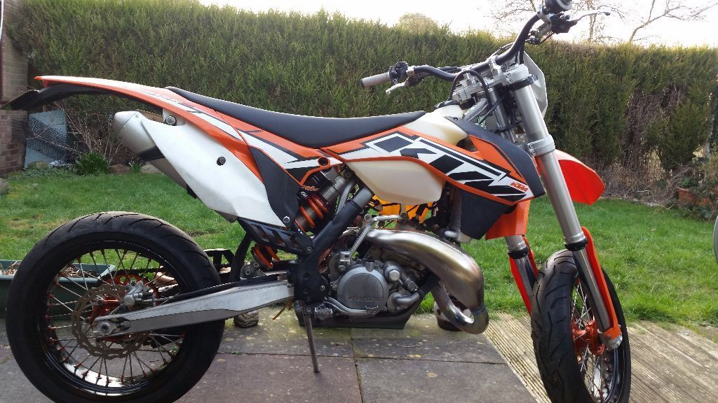ktm 125 exc 2014 road legal supermoto in congleton. Black Bedroom Furniture Sets. Home Design Ideas