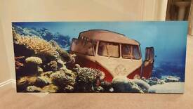 Large VW Print Picture