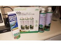 CO2 cans