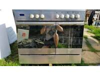 REDUCED! Baumatic dual fuel range cooker delivered today