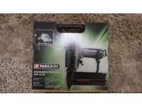 Parkside Pneumatic Stapler PDT 40 D3 New in unopened box