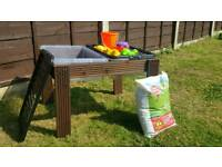 Handmade Toddler Sand & Water Play Table