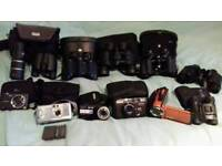Cameras and binoculars for sale