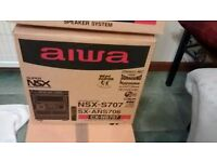 Aiwa NSX-S707 DIGITAL MINI HIFI SYSTEM - NEW/Boxed