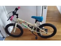 Childrens bike - good as new - no rust - collection required