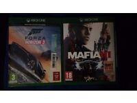 XBOX ONE MAFIA 3 & FORZA HORIZON 3