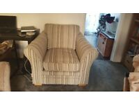 FREE - 2 seater sofa and arm chair