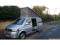 2010 VW T5 camper van with California electric elevating roof, Aircon, Cruise/c