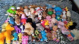 HUGE Bundle of Teddies / Soft Toys Including Disney, My Little Pony, Peppa Pig, Dolls etc.