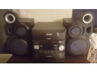 5 multi-cd player and stereo for sale £50