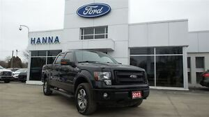 2013 Ford F-150 Super Crew FX4 4X4 5.0L V8 *5 1/2 FT BOX*