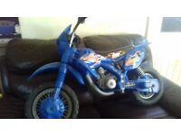 Childs 6v ride on motorbike