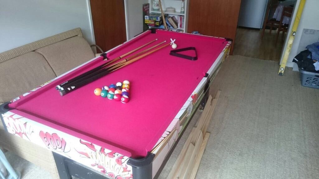 Lovely pool table