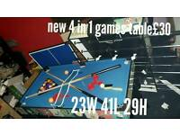 New 4 in games table