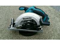 Makita 18v lxt circular saw DSS611 (new)