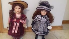 Leonardo Collectors Porcelain Dolls