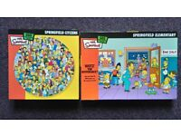 2 x The Simpsons Jigsaws. 500 Pieces
