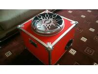 ALPINE 15 INCH TYPE R COMPETITION SUBWOOFER IN CUSTOM ENCLOSURE