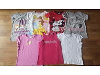 SUMMER BUNDLE MIX TOPS GIRL 9-10 YEARS - NIKE, REEBOK ETC...