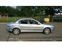 4x4 Jaguar X-Type 2.5V6 with full leather & low miles ,first to drives will buy ,px welocme