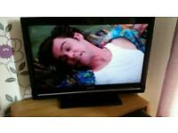 "Sharp 32"" tv with remote"