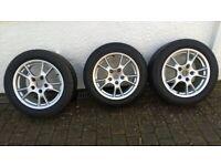 3 Porsche Cayman / Boxster wheels