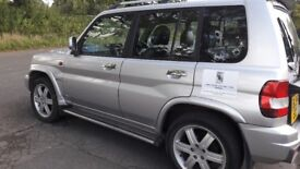 SHOGUN PININ GDI - 2005 FOR SALE SILVER, FAIRLY NEW TYRES MOT TILL JULY 2018