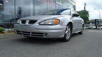 2003 Pontiac Grand Am SE LOW KMS / CRUISE CONTROL / A/C