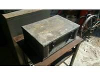 Metal box / Chest