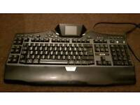 Logitech G19 Gaming Keyboard With LCD Panel