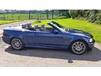 Bmw M3 2004 SMG, Convertible, Mystic Blue, comes with Hard Top, Hpi cleared, FSH, mot'd