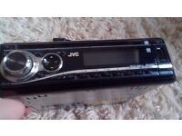 Jvc car stereo cd player