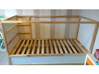Ikea Kura reversible cabin bed- excellent condition!