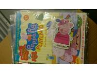 Peppa pig playpens 3 magazines 2 have the magnets