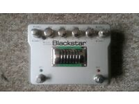 BLACKSTAR HT DUAL VALVE OVERDRIVE / DISTORTION PREAMP PEDAL