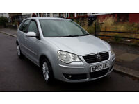 VW POLO 1.4 AUTOMATIC S 07 PLATE 5 DR HATCHBACK 2007 IMMACULATE £2250