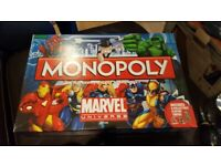 Marvel Universe Monopoly Like New Rare and Collectible