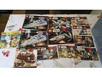 Job lot of Lego Inc star wars & sponge bob