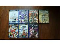 Complete .hack PS2 Collection